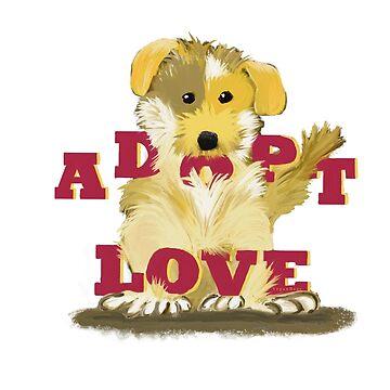 Adopt Love by VeganBear