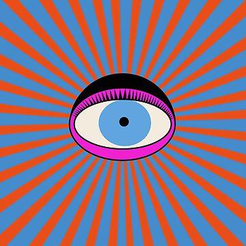 Radiant Eye by grinningskull