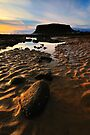 Sand Patterns and Tide Pools by Garth Smith