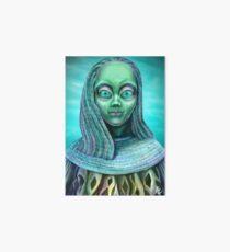 Alien girl Art Board