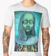 Alien girl Men's Premium T-Shirt