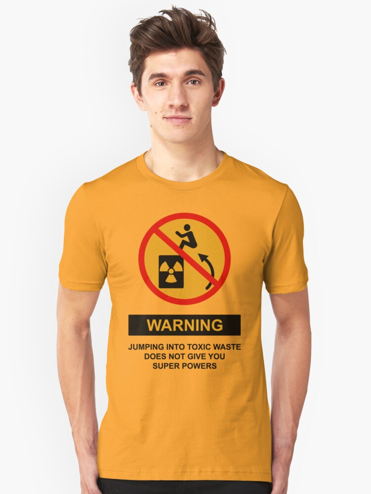 WARNING Unisex T-Shirt Front