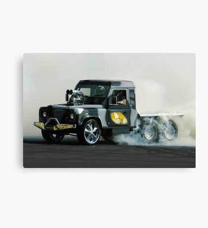 Smokin' Armygeddon Canvas Print
