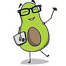 Geek Avocado by reverentgeek