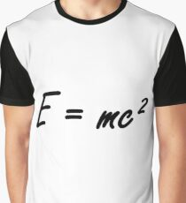 #Physics #massenergy #equivalence #states #energy #fundamental #quantities #Albert #Einstein #famous #formula #Emc2  #equivalent #calculated #mass #multiplied #AlbertEinstein #Theory Graphic T-Shirt