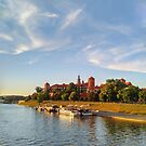 Magical  Wawel Castle in Krakow - view from the bridge  by TalBright