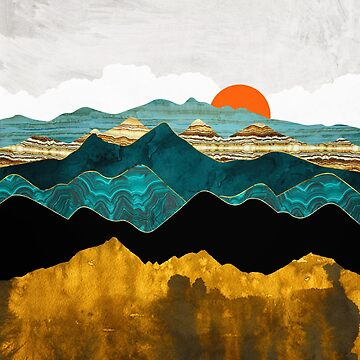 Turquoise Vista by spacefrogdesign