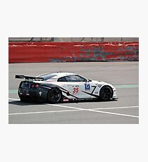 Nissan GT-R Photographic Print