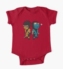 Scorpion & Sub-Zero Short Sleeve Baby One-Piece
