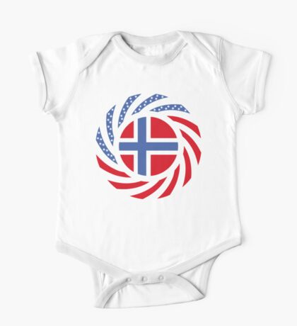 Bouvet American Multinational Patriot Flag Series Kids Clothes