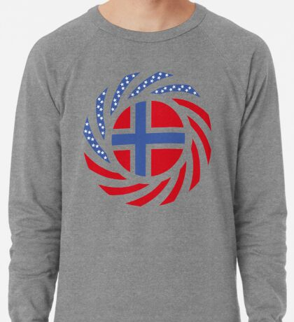 Bouvet American Multinational Patriot Flag Series Lightweight Sweatshirt
