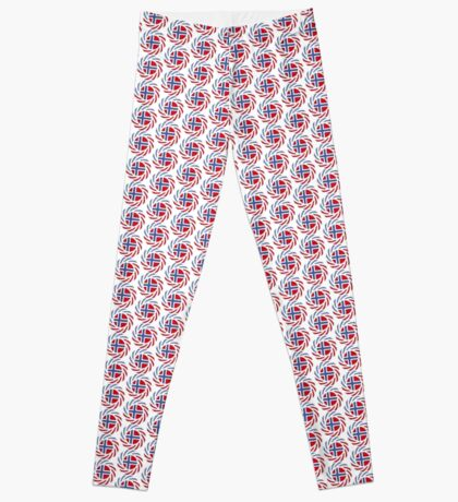 Bouvet American Multinational Patriot Flag Series Leggings