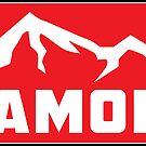 SKIING CHAMONIX MONT BLANC FRANCE Ski Mountain Mountains Skis Snowboard Snowboarding by MyHandmadeSigns