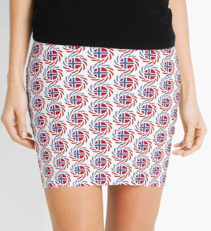 Bouvet American Multinational Patriot Flag Series Mini Skirt