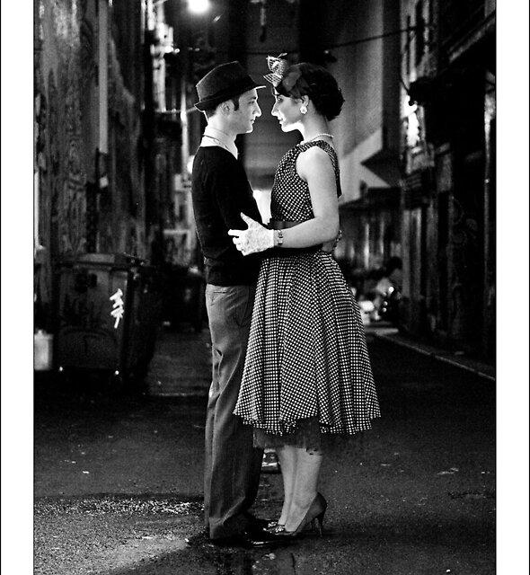 1950's retro couple by Daniel Sheehan
