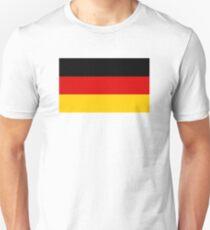 German flag, Deutsche Flagge Unisex T-Shirt