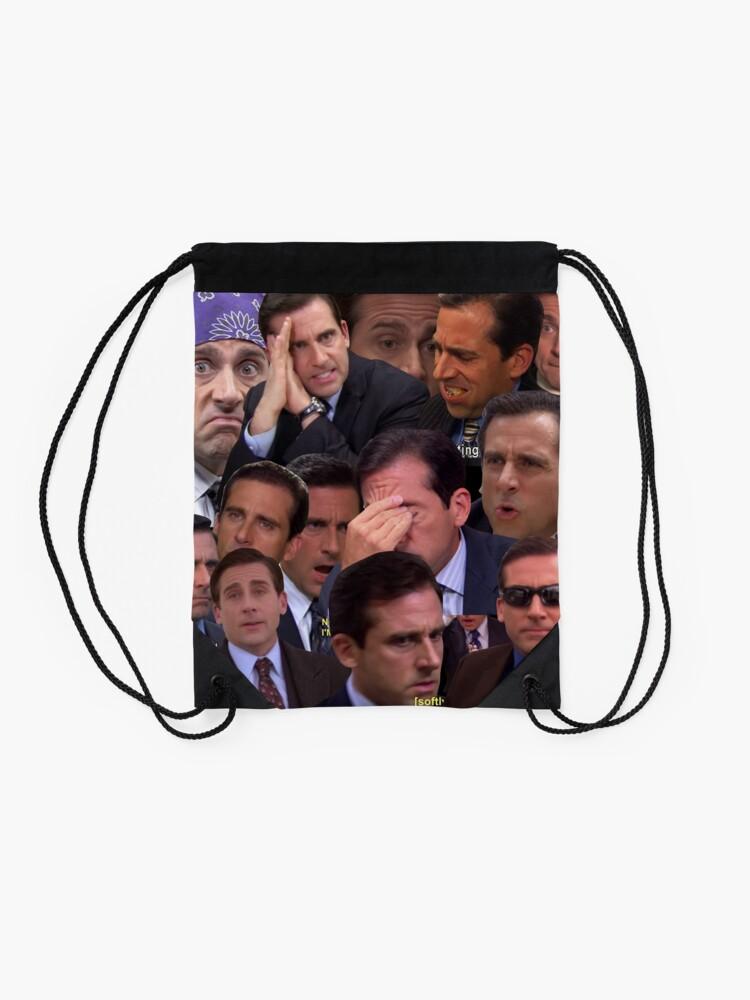 Alternate view of The Office Set Drawstring Bag