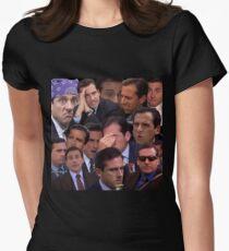 Camiseta entallada para mujer El conjunto de oficinas
