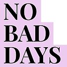 No Bad Days Purple by lukassfr