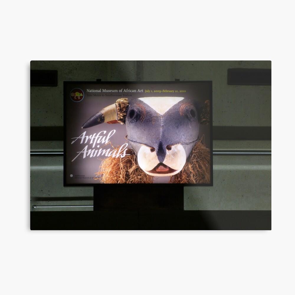 Artful Animals Lámina metálica