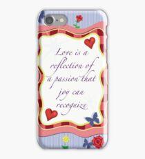 Love's Reflection iPhone Case/Skin