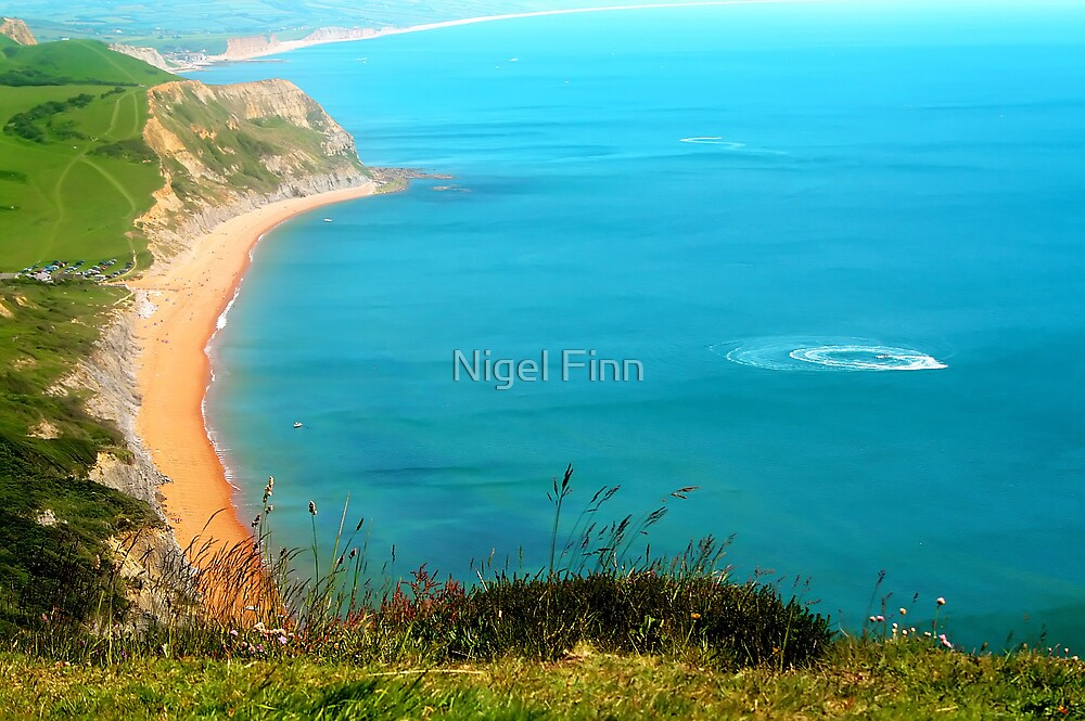 Circles And The Sand by Nigel Finn