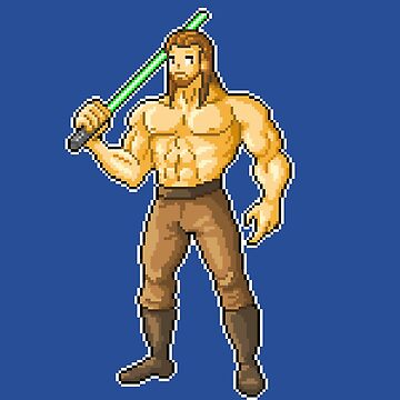 Qui Gon Gym by maicakes
