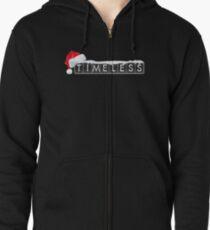 A Timeless Christmas Zipped Hoodie