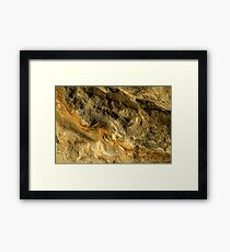 Every Layer Has A Story Framed Print