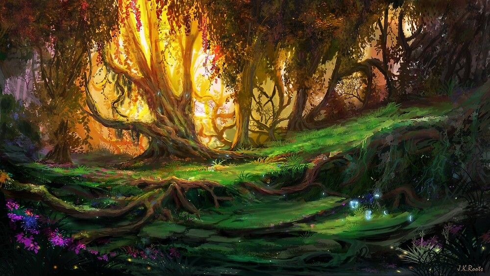 Enchanted Forest by Johannes Kert Roots