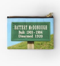 Fort Caswell Sign Studio Pouch