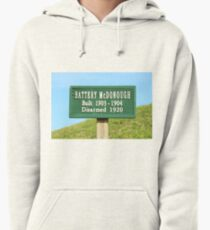 Fort Caswell Sign Pullover Hoodie