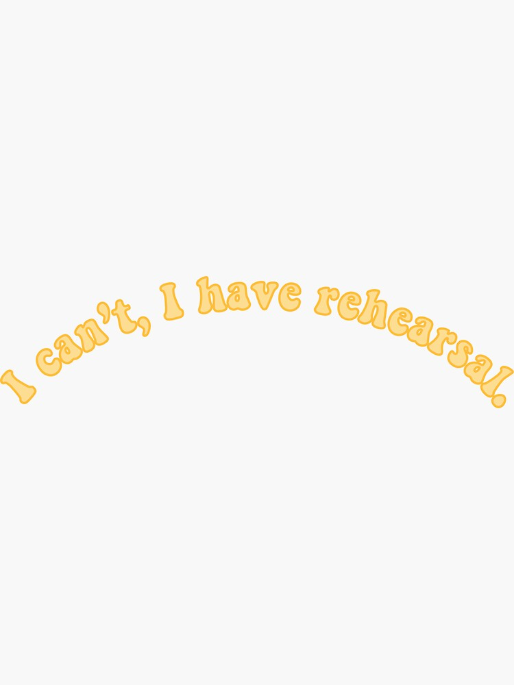 No puedo, tengo ensayo de emsharpe22