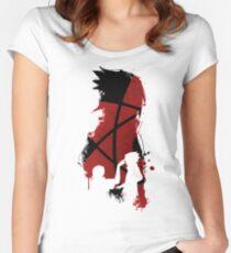 Sasuke and Itachi Women's Fitted Scoop T-Shirt