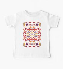 Bright Abstract Watercolor Shapes Kids Clothes