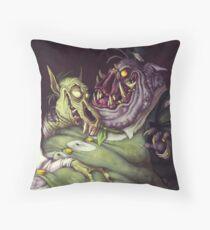 Monster Men Throw Pillow