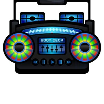 RETRO Boombox 90's by ShyneR