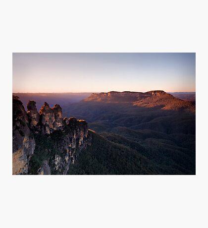 Sunrise at Echo Point, Katoomba Photographic Print