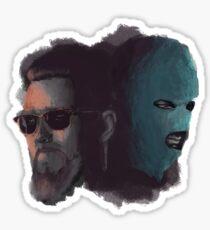 Redemption tour art Sticker