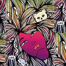 The Crazy Cat Lady | Line Art | Gay LGBTQ Love Wins by mydoodlesateme