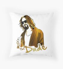 the dude, exclusive gold edition Floor Pillow