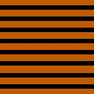 Stripes black and orange. Halloween by lattedesign