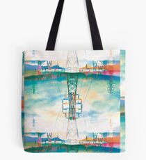 Patchwork Pylons - Interconnected Tote Bag