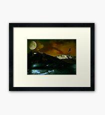 Intrepid Earth Framed Print