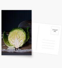 Savoy Cabbage Postcards