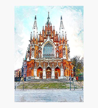 St. Josephs Church Krakow #krakow Photographic Print