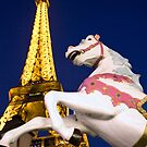 Paris Carousel by Peter Denness