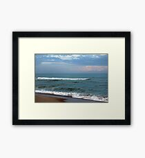 Kure Beach, North Carolina Framed Print