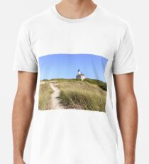New England Lighthouse, Block Island Premium T-Shirt