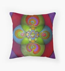 The Labyrinth Throw Pillow